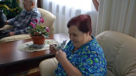 Ветераны из пансионата «Кантемировский» получили от детей подарки  к Новому году