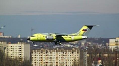 В Воронеже испытали третий Ан-148 для Минобороны