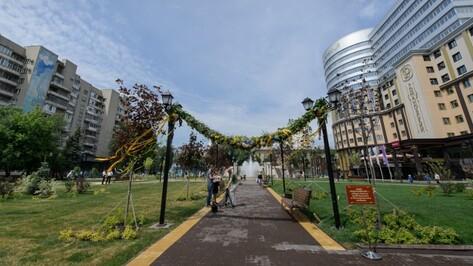 Сквер в центре Воронежа получил историческое название «Романовский»