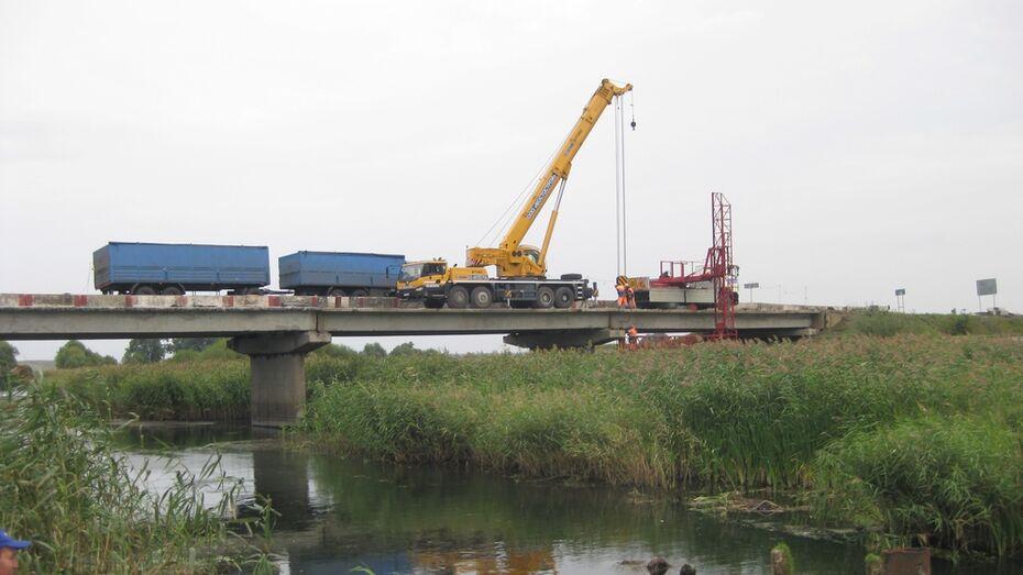 В Эртильском районе отремонтируют мост через реку Битюг