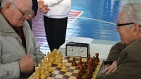Семилукские пенсионеры сразились за звание лучшего шахматиста