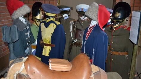 Лискинский краеведческий музей пополнился 100 экспонатов из войсковой части