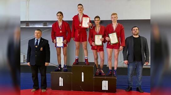 Таловские самбисты выиграли 3 «золота» на первенстве области