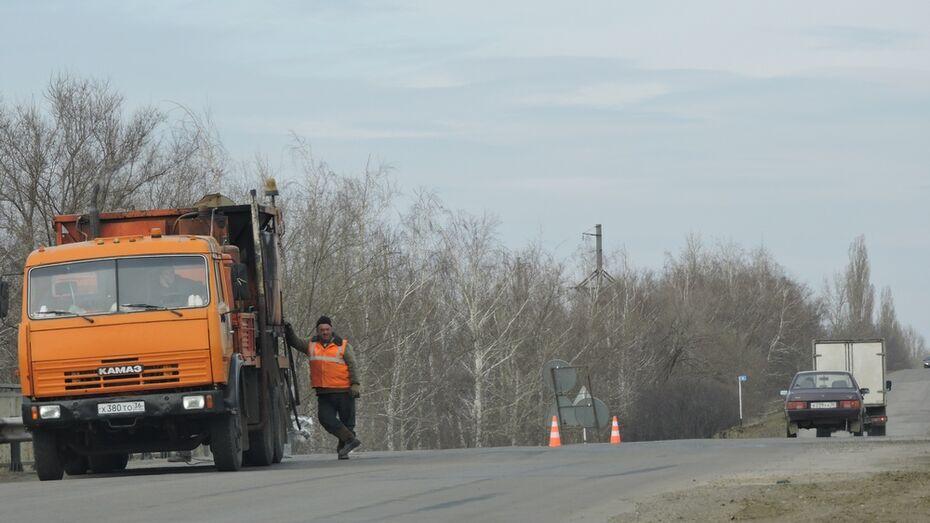 В Кантемировском районе начали ремонт дороги Кантемировка-Богучар