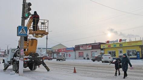 В Борисоглебске оборудовали светофор для незрячих