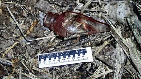 В Воронежской области подросток изрезал себя осколком бутылки