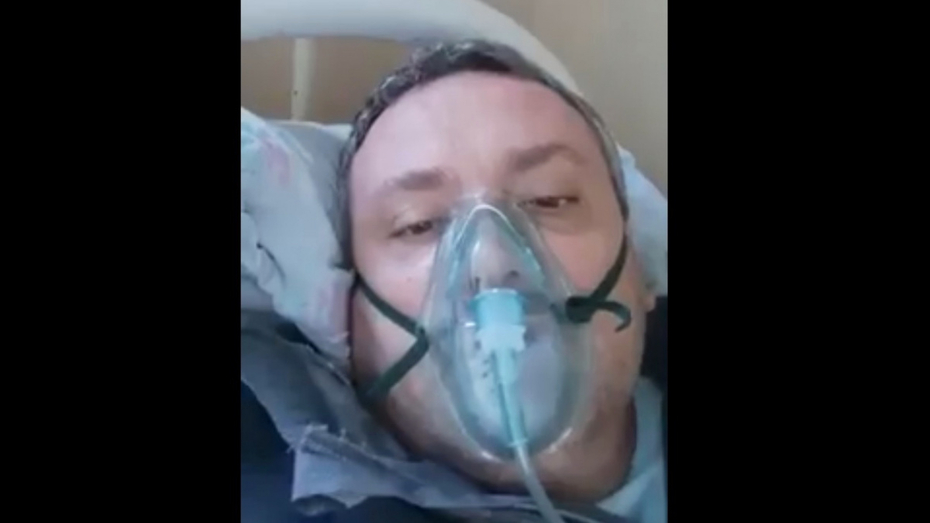 Воронежский врач с коронавирусом записал видео для не верящих в COVID-19