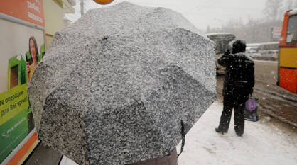 Международный женский день в Воронеже будет снежным и ветреным