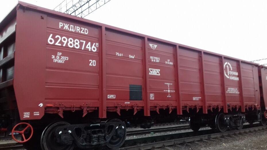 Воронежский филиал ПГК увеличил перевозки минеральных и химических удобрений
