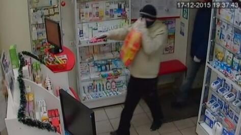 В Воронеже полицейские раскрыли ограбление аптеки