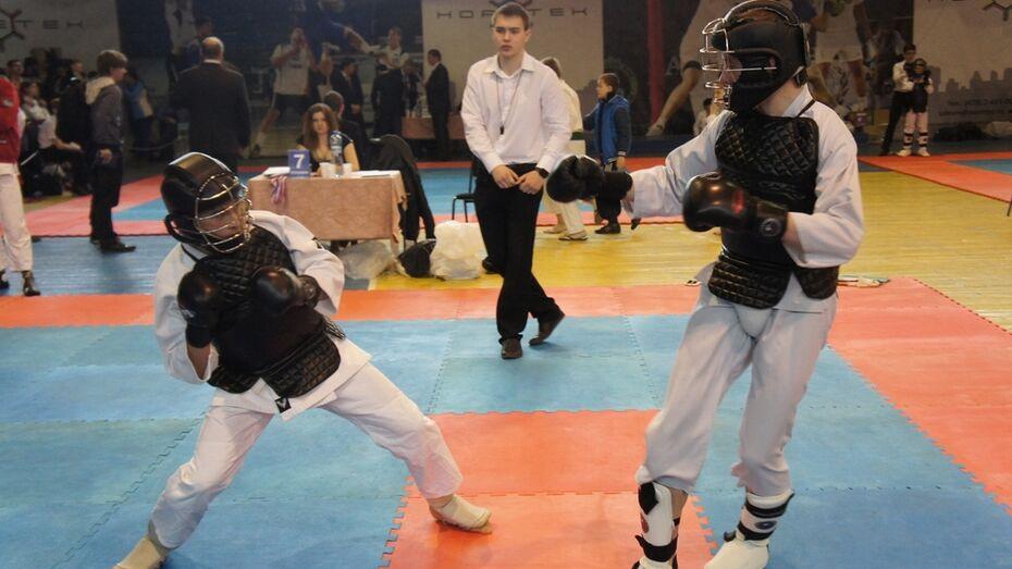 Воронежский чемпионат по восточному единоборству собрал более 300 спортсменов
