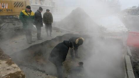 В Левобережном районе Воронежа без отопления остались 42 дома, две школы и детский сад