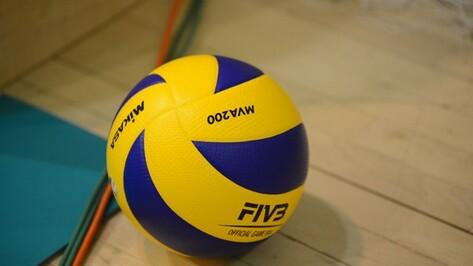 Воронежские волейболисты переиграли «Дагестан»