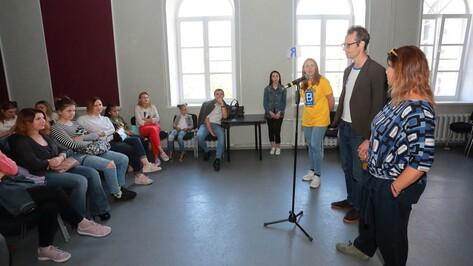 Участники проекта «100% Воронеж» рассказали о репетициях документального спектакля