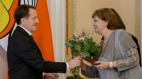 Алексей Гордеев вручил награды воронежским работникам культуры