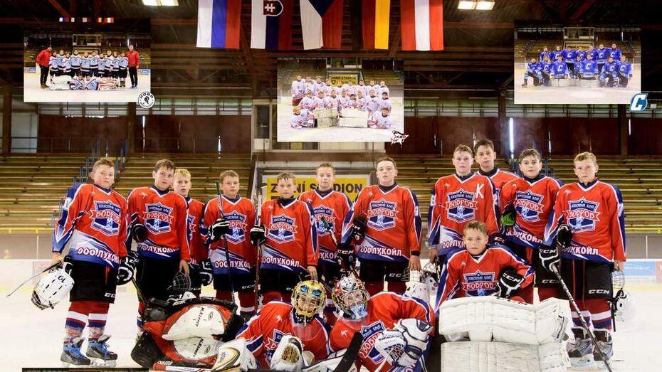 Бобровские хоккеисты завоевали «серебро» на международном турнире в Чехии