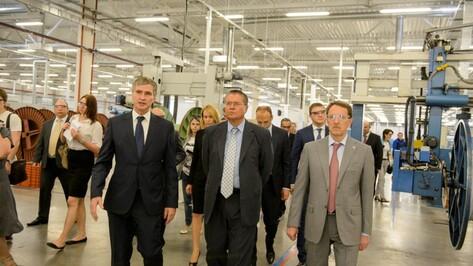 Алексей Улюкаев в Воронеже: «Надо создавать возможности для малого бизнеса»