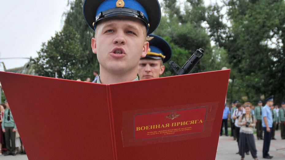 Главком ВВС Виктор Бондарев: «Осенью в воронежскую научную роту призовут еще 25 человек»
