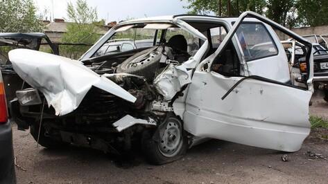 В Ольховатке в ДТП пострадали водители и пассажиры двух машин