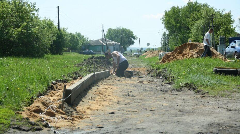 Велопешеходную дорожку построят в нижнедевицком поселке Курбатово