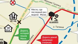 Убийство школьницы в Павловском районе: инфографика