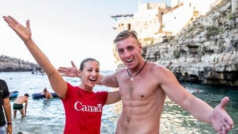 Воронежский хайдайвер Артем Сильченко победил на этапе мировой серии в Италии