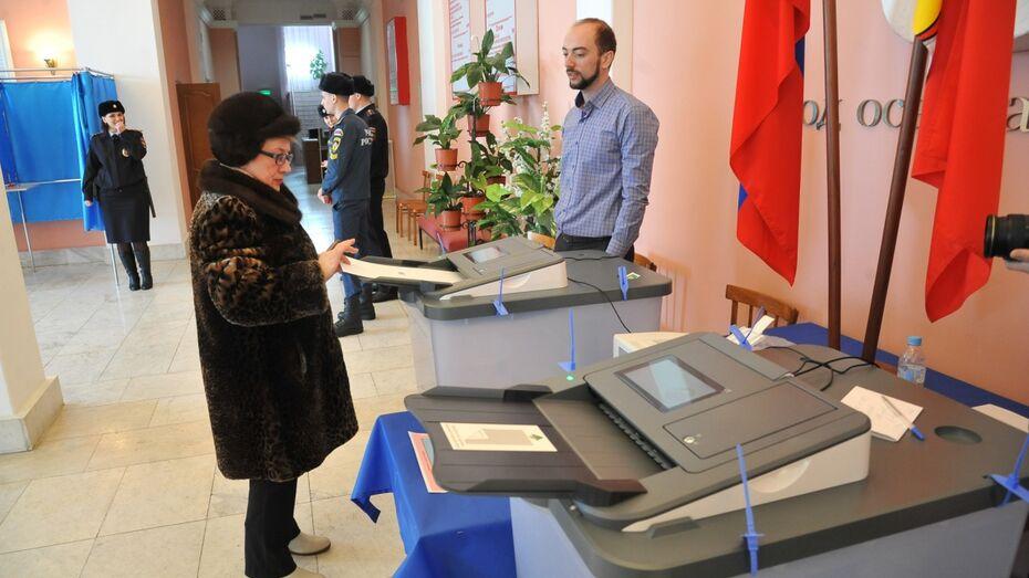 «Умные урны» дали сбой на 2 избирательных участках в Воронеже