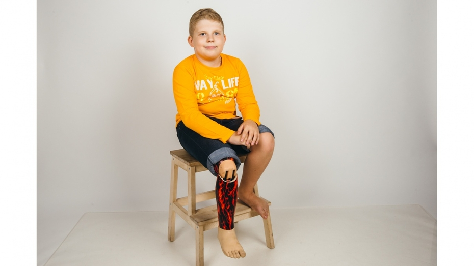 Американские врачи бесплатно поставили протез 10-летнему герою РИА «Воронеж»