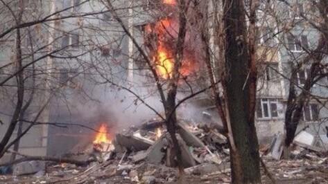 Взрыв газа произошел в многоквартирном доме в Волгограде