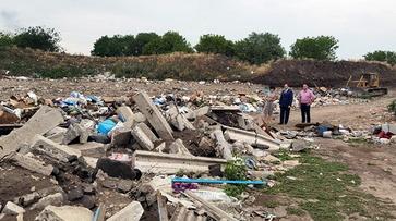 На мусорном полигоне в Лисках обнаружили массу нарушений