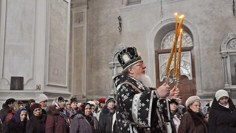 Митрополит Воронежский и Лискинский Сергий совершил архипастырский визит в Бутурлиновку