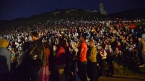 В Воронежской области гости «Ночи в Дивногорье-2014» навредили природе заповедника