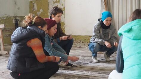 Воронежские художницы показали перформанс в заброшенной тюрьме