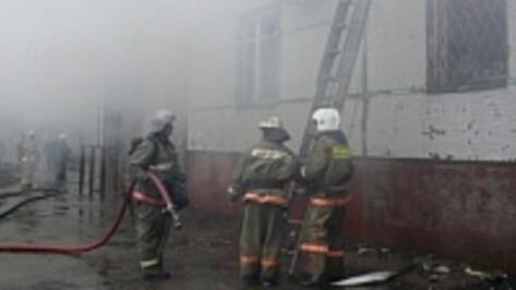 В Воронеже пожарные спасли 20 человек из горящего дома