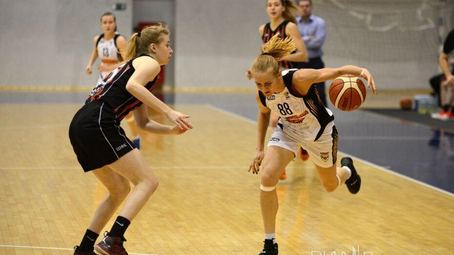 Воронежские баскетболистки проиграли екатеринбургским