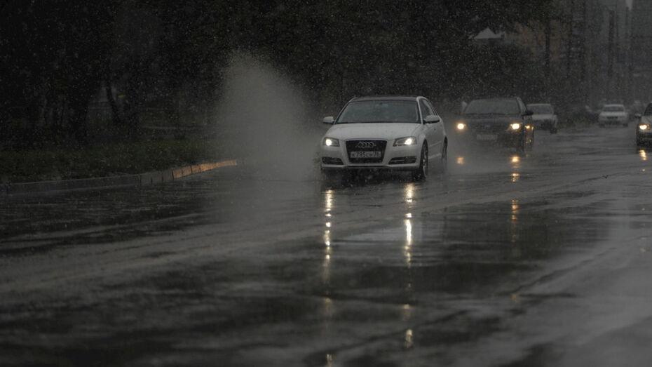 Спасатели объявили в Воронежской области штормовое предупреждение