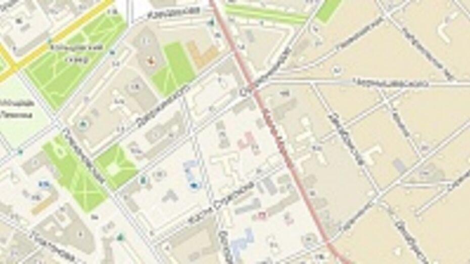 В Воронеже сегодня вечером перекроют улицу Карла Маркса