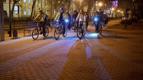 Воронежские велосипедисты присоединились к акции «Час Земли»