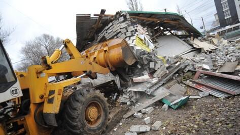 В Воронеже за год снесли 539 незаконных киосков