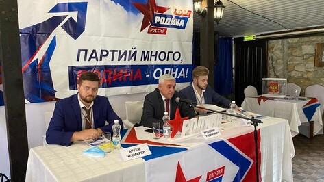 Воронежская «Родина» определилась с кандидатами в депутаты