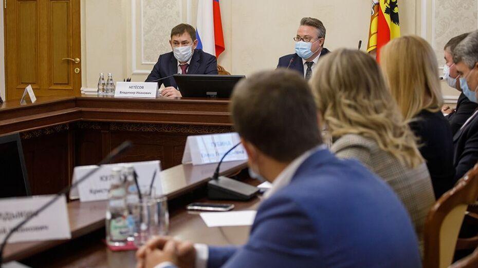 Депутаты облдумы обсудили с мэром основные приоритеты развития Воронежа