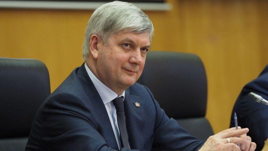 Александр Гусев сообщил об отставках в правительстве Воронежской области