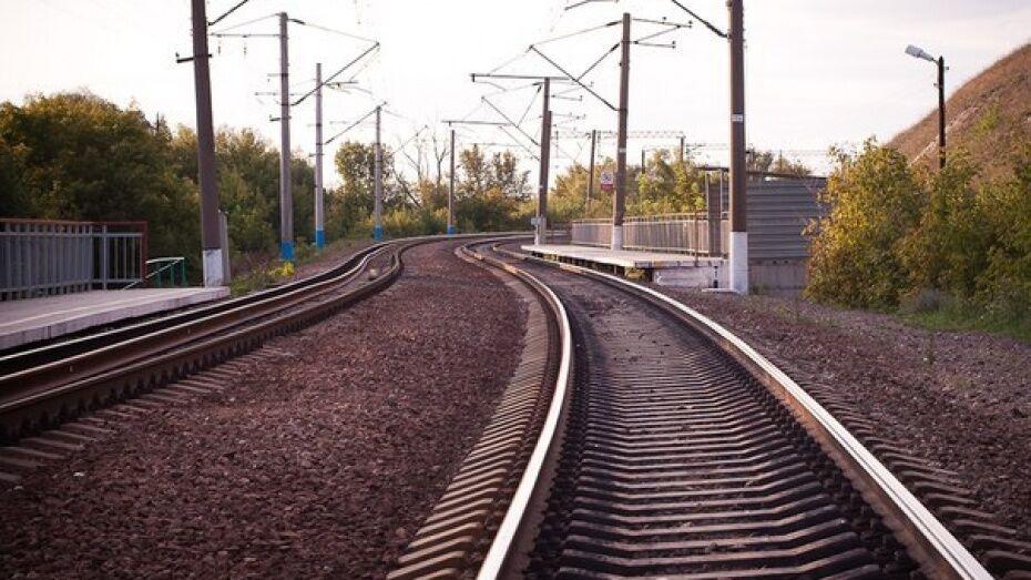 В Воронежской области пассажирский поезд насмерть сбил 35-летнюю женщину