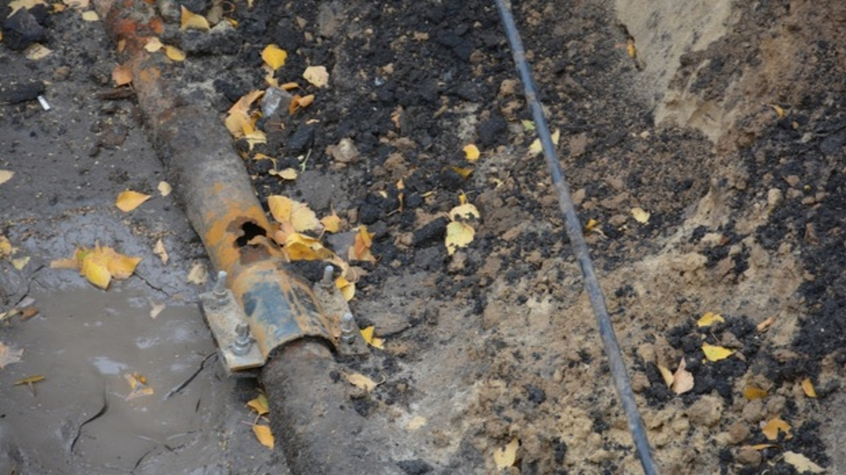 В Поворино жители одной из улиц остались без воды из-за аварии на водопроводе