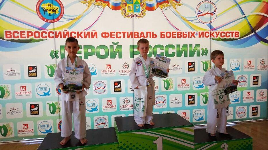 Воронежцы стали триумфаторами всероссийского фестиваля любительских боевых искусств
