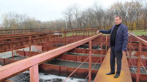 В Таловой на реконструкцию очистных сооружений потратили более 6 млн рублей