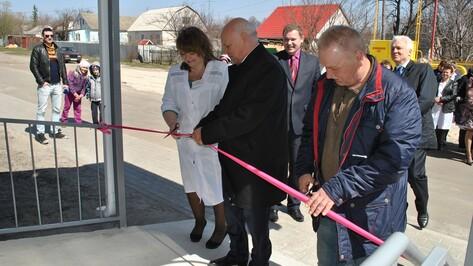 В семилукском поселке открыли новую амбулаторию