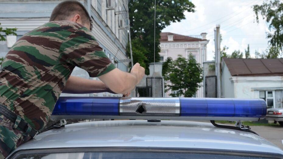 Машину грабителей, открывших огонь по полицейским в Павловском районе, обнаружили в Ростовской области