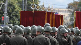 Схему движения по улицам Воронежа поменяют 7 мая из-за репетиции парада Победы