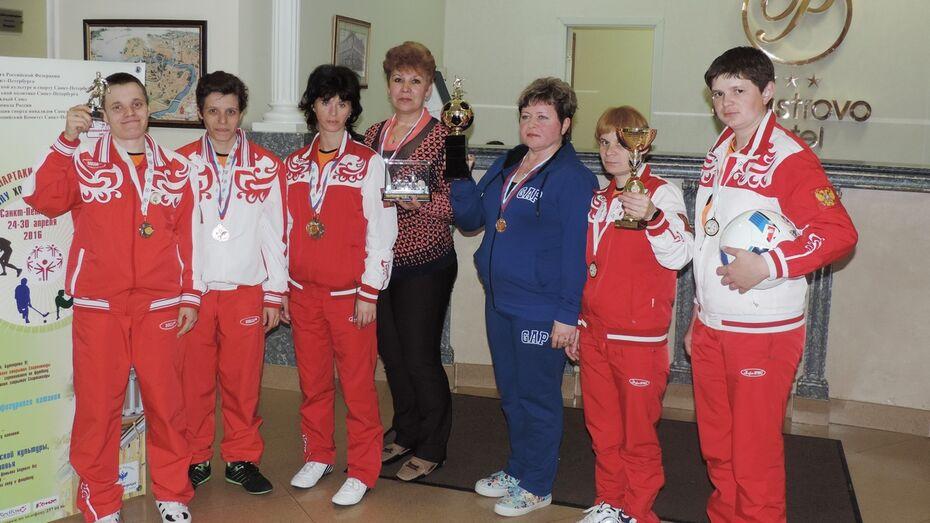 Команда воронежского интерната взяла «бронзу» всероссийской спартакиады по мини-футболу